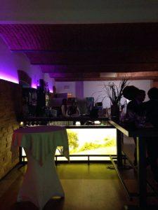 trendige Bar im Stadlerhof Wilhering