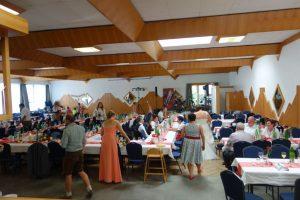 Hochzeitstafel Gasthof Mandl