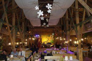 Loryhof in Wippenham Festsaal