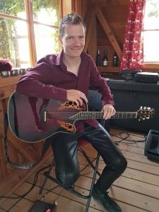 Gitarrist Martin